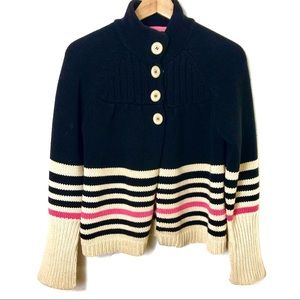 ANTHROPOLOGIE Sanctuary Homespun Striped Sweater